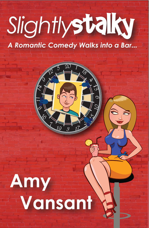 "Book Cover of ""Slightly Stalky"" by Amy Vansant"
