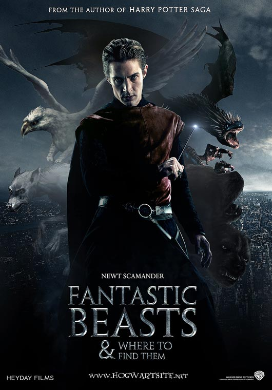 fantastic beasts and where to find them - book talk - literative