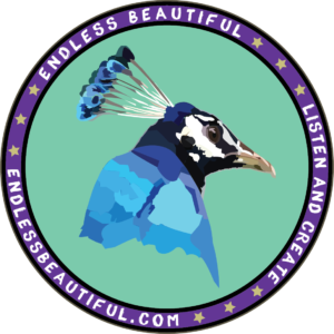 The logo for Endless Beautiful Podcast on their interview with Literative.com