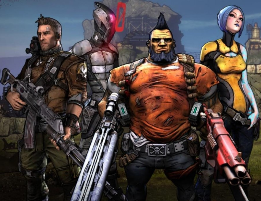 Sci-Fi Series #4 - Borderlands - Literative