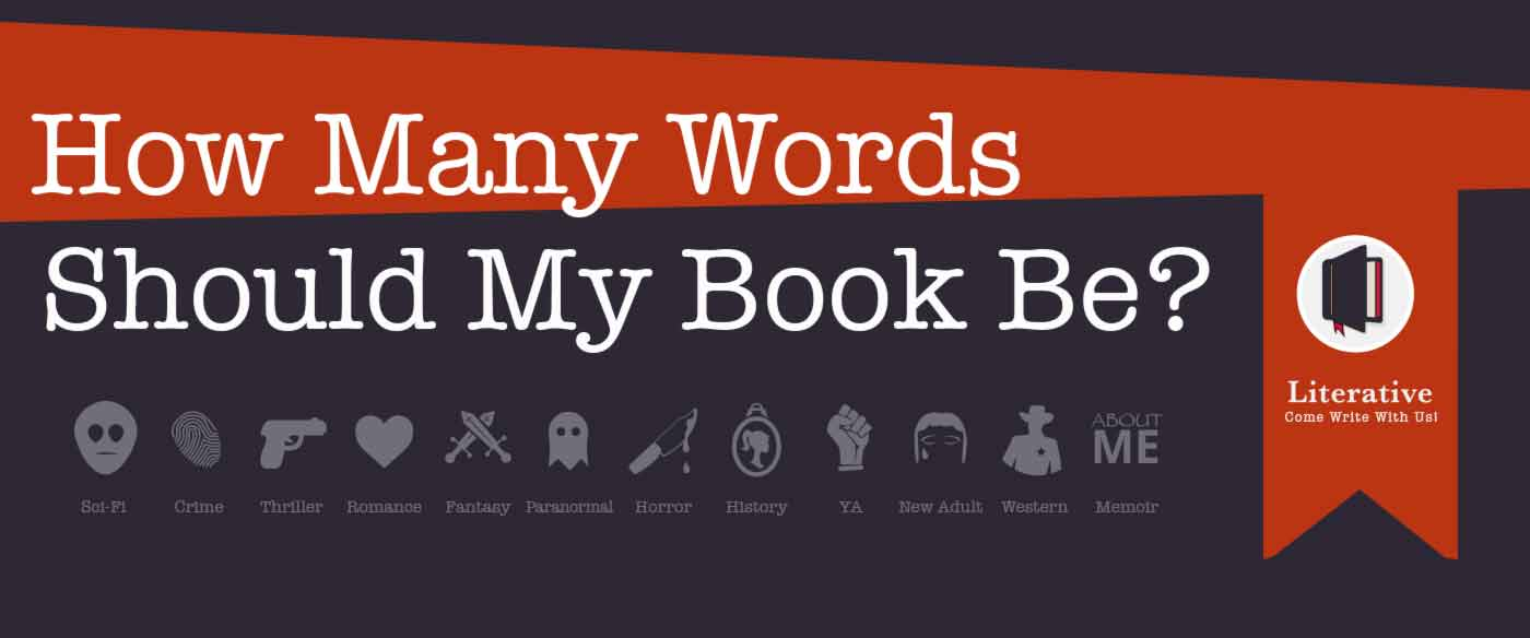 How many words to write a book